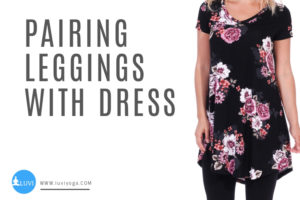 How-To-Wear-Capri-Leggings-with-a-Dress